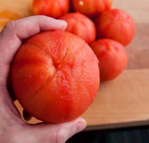 peeled tomato