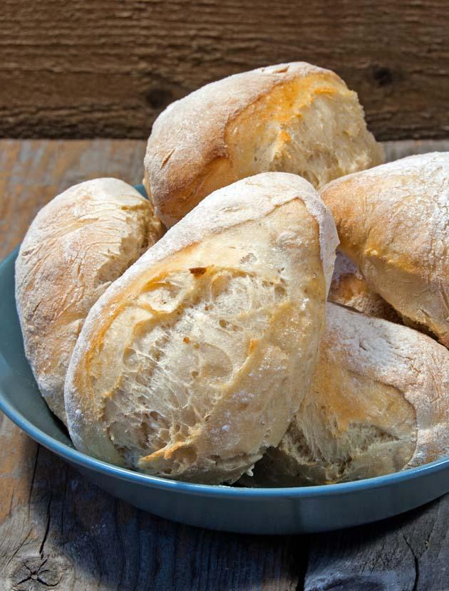 Sourdough breakfast rolls