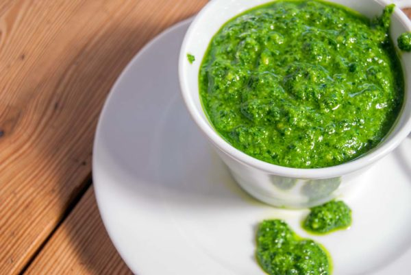 Kale and Rucola pesto
