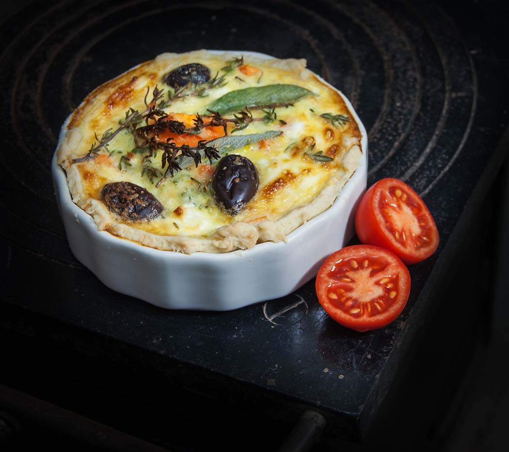 reduce food waste Quiche with anything