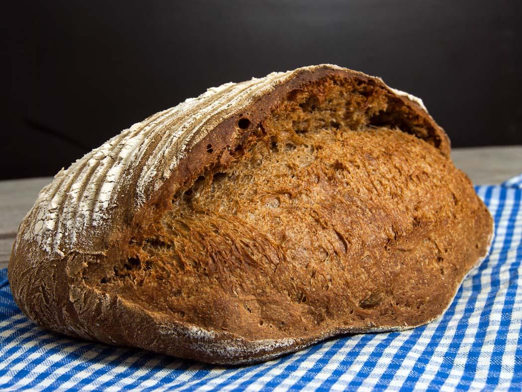 Swedish wort bread