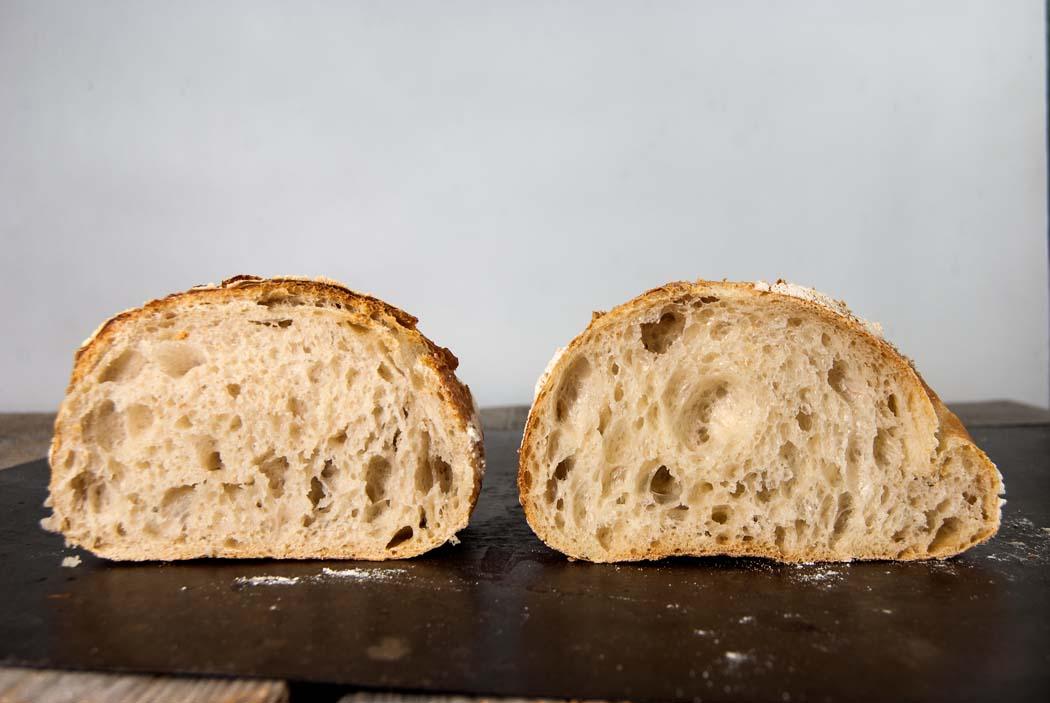 All-purpose flour vs bread flour - Sourdough&Olives